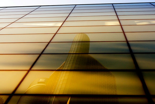 buildingreflected